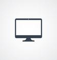 computer desktop icon vector image