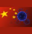 coronavirus 2019-nc0v outbreak coronavirus vector image