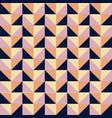 geometric bright multi colored background vector image vector image