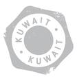 Kuwait stamp rubber grunge vector image