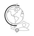 labor day cartoon vector image vector image