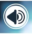 musical sound icon design vector image vector image