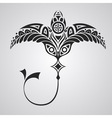 tattoo numbfish vector image