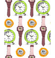 watches vector image vector image
