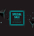 abstract sale banner vector image