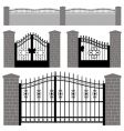 Gate doors vector | Price: 1 Credit (USD $1)