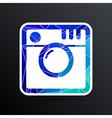 Hipster photo Camera icon Photo camera pictogram vector image vector image