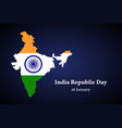 india territory map republic day poster vector image