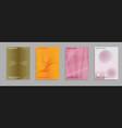 minimal covers set future geometric design vector image