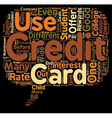 Should Your Student Get A Student Credit Card text vector image vector image