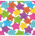 smilies stars vector image vector image