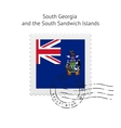 South Georgia and the South Sandwich Islands Flag vector image vector image