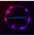 Abstract light circles background vector image