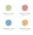 Cosmetic Logo Seasonal Design Collection vector image