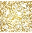 luxury seamless pattern vector image