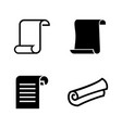 paper simple related icons vector image