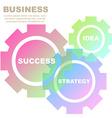 BusinessIdea-03 vector image vector image