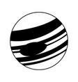 celestial body icon image vector image vector image