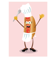 miss hot dog vector image vector image