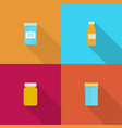 pill bottle for capsules vector image