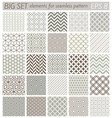 samples geometric patterns vector image