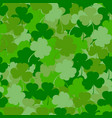 st patrick s day seamless background vector image vector image