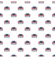 usa veterans day pattern seamless vector image vector image