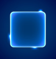 Abstract blue square placeholder vector image