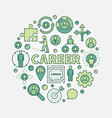 career opportunities colorful vector image vector image
