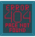 Error message background vector image