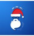 HO HO HO Merry Christmas vector image vector image