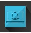 learn online book bell school vector image vector image