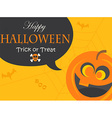 Poster for Halloween Party Night vector image vector image
