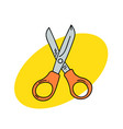 shears vector image vector image