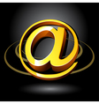 3d email symbol vector image