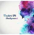 Abstract hand drawn watercolor background s vector image vector image