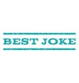 Best Joke Watermark Stamp vector image vector image