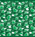 doodle pigeon birds seamless pattern background vector image vector image