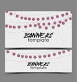 invitation card party celebration vector image