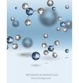 Methane Molecule Image vector image vector image