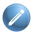 pencil icon simple style vector image vector image