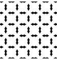 seamless geometrical pattern arrows index vector image vector image
