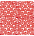 Valentines gift red textures vector image vector image