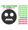 angry smiley icon with bonus emotion clipart vector image