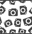 camera icon seamless pattern background business vector image vector image