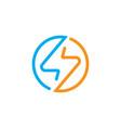 electrical logo vector image