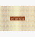 golden wavy stripes pattern graphic design vector image