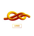 gradient shape logo vector image