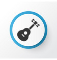 guitar icon symbol premium quality isolated vector image