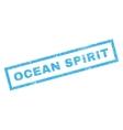 Ocean Spirit Rubber Stamp vector image vector image